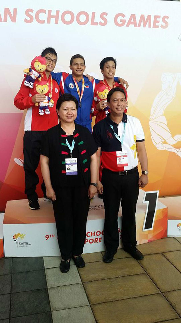 Maurice Sacho Ilustre caps dominant ASG campaign by winning fourth gold in swimming
