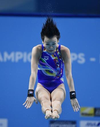 Malaysia bags first gold ever at world aquatics meet as Jun Hoong Cheong tops women's 10-m platform