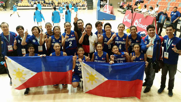 Third time's the charm for Filipina cagebelles as PH team finally bags gold in Asean School Games