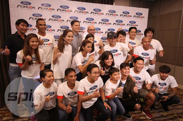 Ironman 70.3 race a family affair for Guidicellis as Ford Forza team out to win and inspire in Cebu