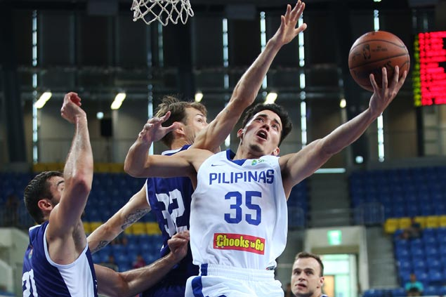 Gilas Pilipinas finds Lithuania's disciplined game, hot shooting too much to overcome