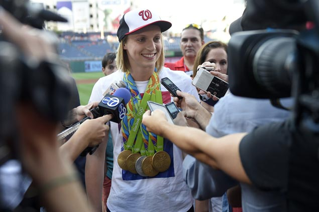 Katie Ledecky all set for another big week at world championships