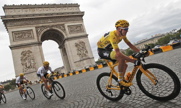 Four Tour de France titles now for Chris Froome after his toughest and most fulfilling ride