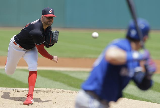 Corey Kluber strikes out season-high 14 as Indians down Blue Jays