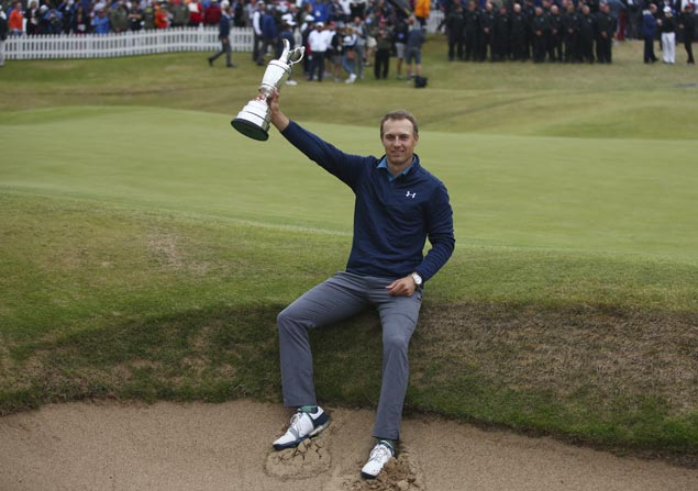 Blazing back nine propels Jordan Spieth to Open title, third major crown