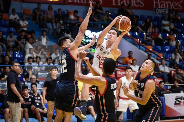 San Beda stretches streak to three games with big victory over Knights