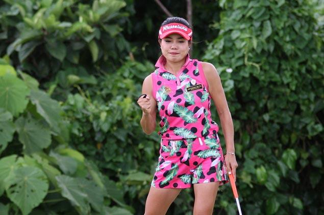 Thailand's Saruttaya Ngam-usawan one stroke ahead of Pauline del Rosario at Riviera