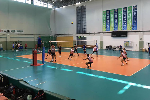 PH men's volleyball team suffers another letdown in tune-up against Korean Universiade squad