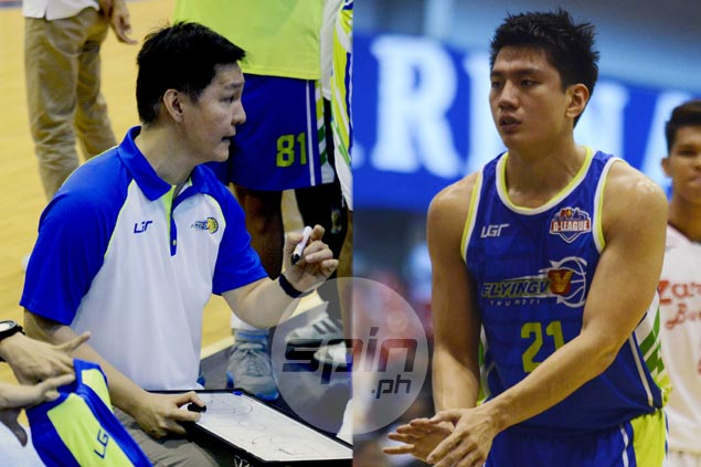 Flying V coach Altamirano sees Jeron Teng turning into triple-double threat in PBA
