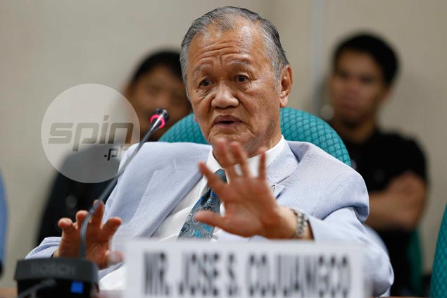 Defiant Peping Cojuangco says POC intends to push through with 2019 SEA Games hosting