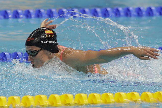 Olympic champ Mireia Belmonte glad to end years of silver with first gold at world championships