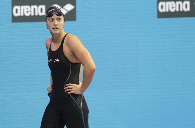 Katie Ledecky determined to do better in 2020 Olympics after a bit of a letdown at worlds