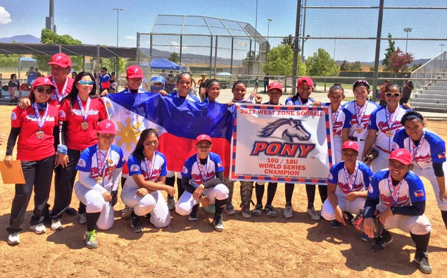 Team Manila Philippines wins Pony International 18-U Girls Softball World Series
