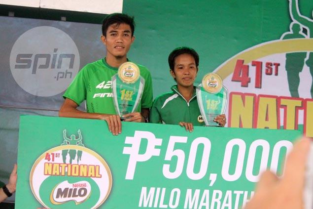 Hard work, dedication pays off for Rafael Pescos with dominant win in Milo Marathon Manila leg