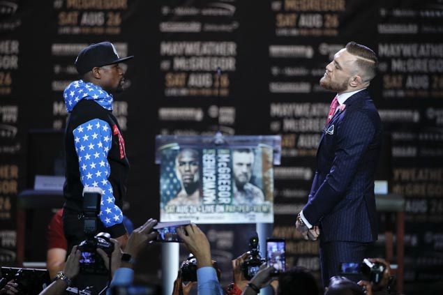 Lots of expensive seats left unsold as Mayweather-McGregor 'con job' is exposed