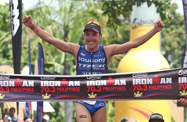 Tim Reed completes treble as Ironman 70.3 Cebu marred by death of triathlete