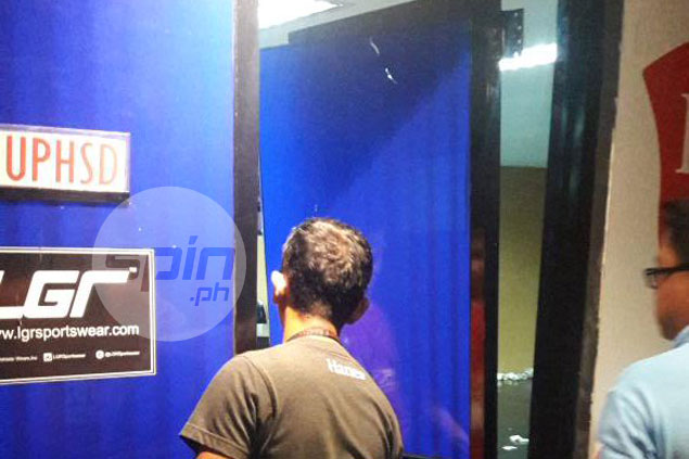 Frustration boils over as door of Perpetual dugout damaged after sorry loss to Letran