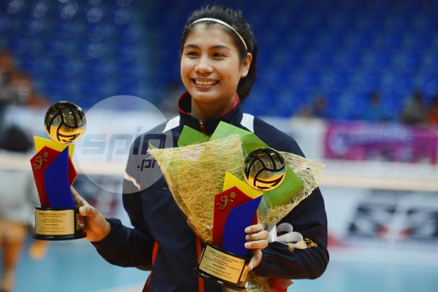 Myla Pablo bags MVP, Best Outside Spiker awards in PVL Open