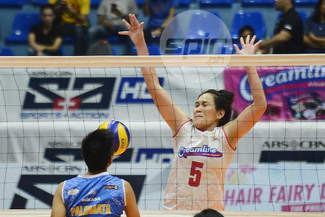 Jean Balse-Pabayo turns back clock with vintage outing to help Creamline earn third place finish