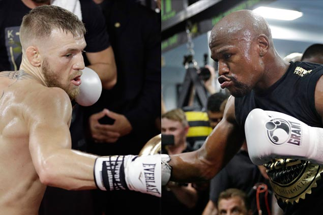 Conor McGregor Predicts He'll Beat Floyd Mayweather Inside Four Rounds