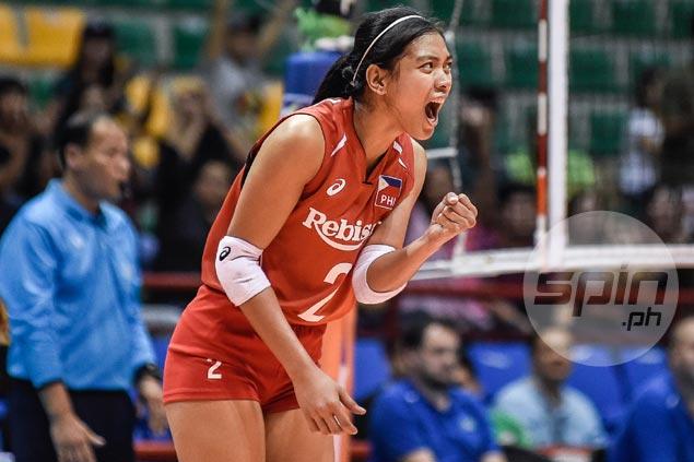 Alyssa Valdez says AVC setbacks motivate PH team to achieve more in SEA Games
