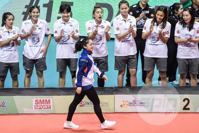 PH team standout Dawn Macandili named second best libero in Asian women's volley meet