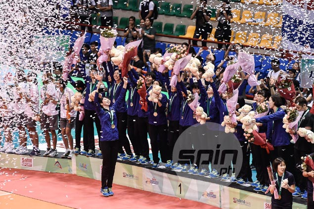 Japan outlasts Thailand to end long title drought in AVC Asian Women's Volleyball Championship