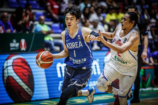 Hot-shooting South Korea torments Gilas Pilipinas once more