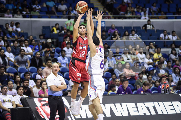Roi Sumang career game, timely Walker stop lead Blackwater past NLEX in thriller