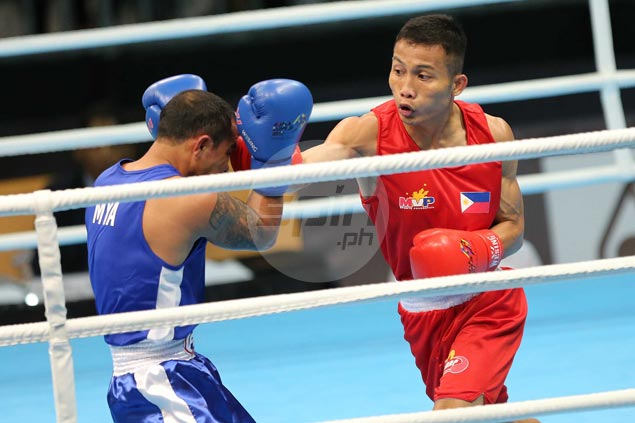 Marcial, Bautista assured of medal finish as PH boxers go 3-0 in Day One of SEA Games