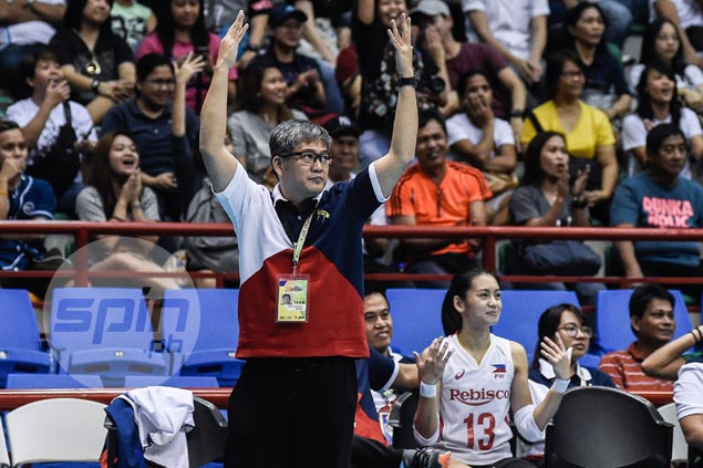 Philippine women's team, coach Francis Vicente bracing for big Vietnam fightback in SEAG volley