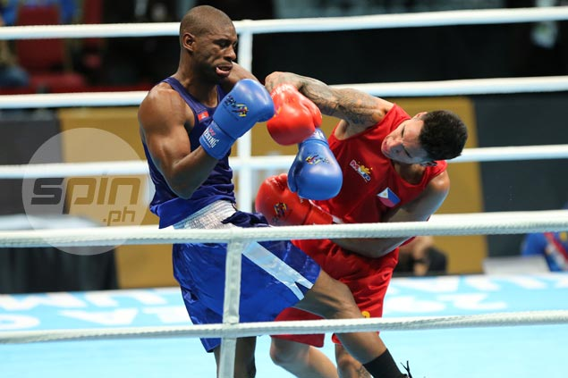 PH pugs Suarez, Marvin, Fernandez secure bronze, move a win away from gold medal match in SEAG