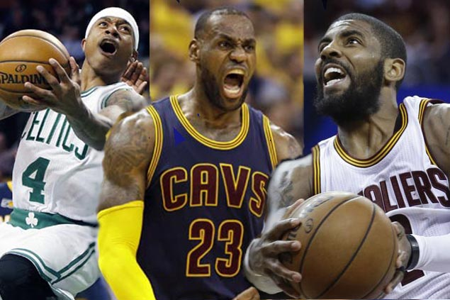There's a number of reasons why LeBron will be celebrating Thomas for Irving deal