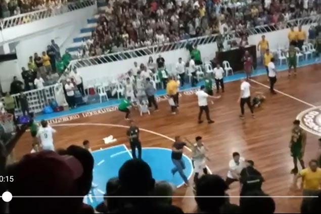 New details emerge on Davao melee as Archers stopped from bringing chairs, stick in brawl vs FEU