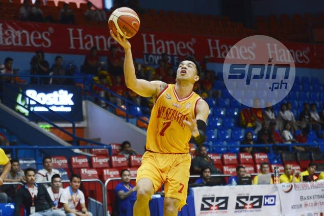 Michael Calisaan leads late breakaway to lift San Sebastian Stags over EAC Generals