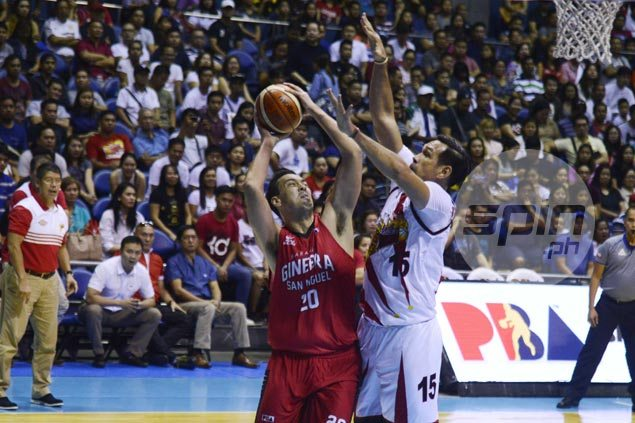Greg Slaughter looks ahead to facing Fajardo, SMB in playoffs as Ginebra comeback ends up short