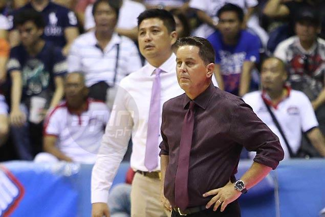 Tim Cone ploy falls just short as deputy Richard del Rosario helps set up late Ginebra run against SMB