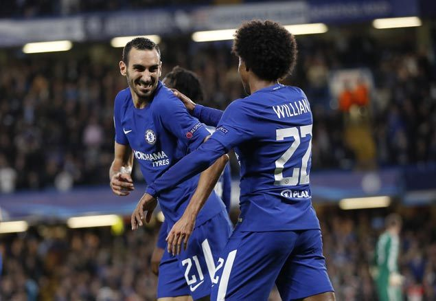 Zappacosta shines in first start with Chelsea as EPL titleholder rips Champions League newcomer Qarabag