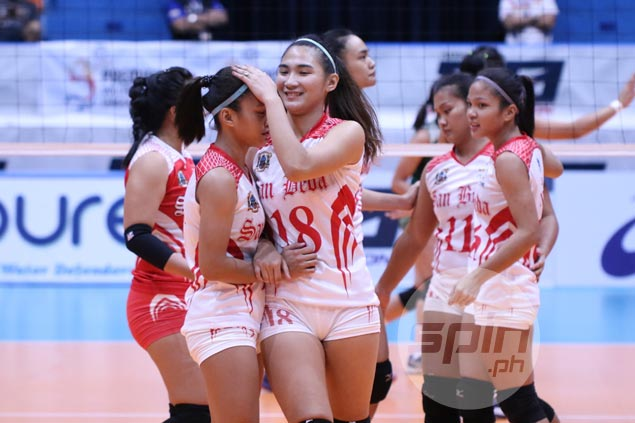 Cesca Racraquin deflects credit as San Beda earns morale-boosting win in PVL vs NCAA tormentor CSB