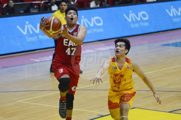 Jerome Garcia shows way as EAC Generals score easy win over skidding Mapua Cardinals