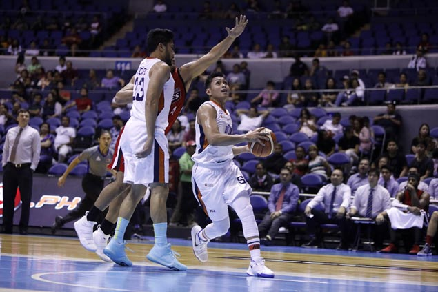Recharged Bolts prove too strong vs Aces as Meralco dims Alaska's playoff hopes