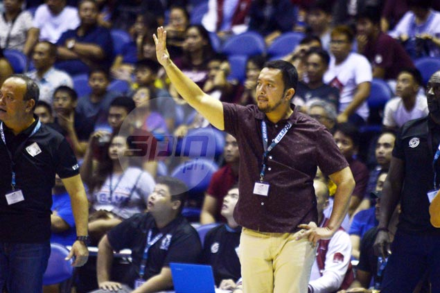 Bo Perasol pleased with good start but notes hard work awaits Fighting Maroons