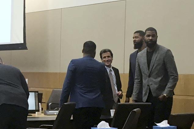 Assault Trial Begins For Former Phoenix Suns Players