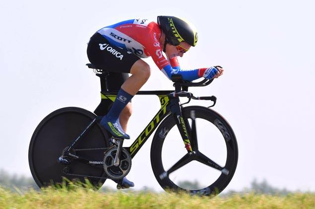 Annemiek van Vleuten tops women's time trial at road cycling world championships