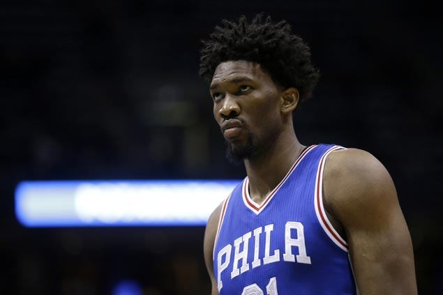 Joel Embiid still not cleared for 5-on-5 drills six months after minor surgery on injured knee