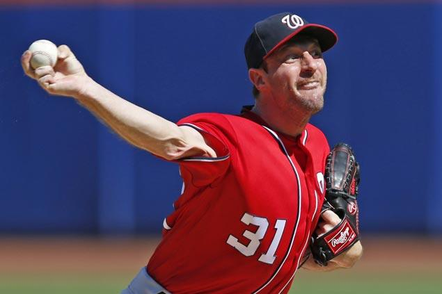 Max Scherzer outduels Jacob deGrom as Nationals edge Mets to clinch NLDS home field