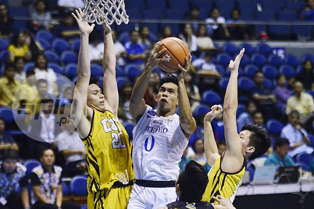 Ateneo Blue Eagles keep slate unblemished, survive scare from winless UST Tigers