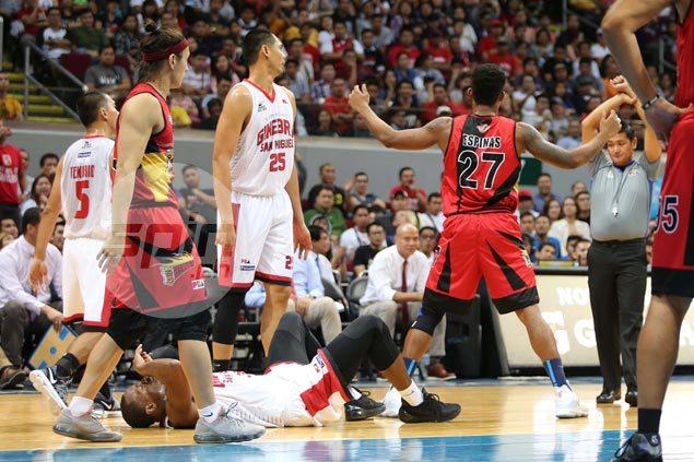 Gabby Espinas clears air on spat with Japeth Aguilar's father: 'Parang minura ako ng dad niya'