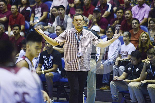 Bo Perasol to Fighting Maroons: Always keep your emotions in check