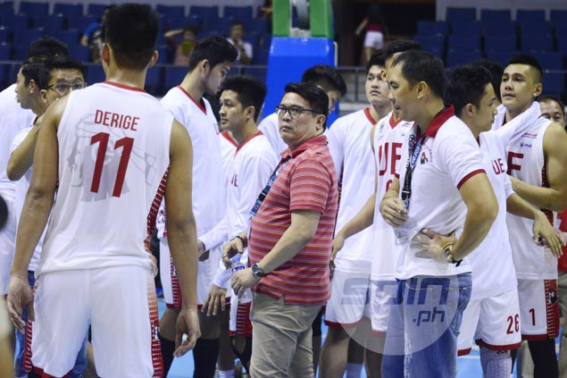 UE hopes to use late comeback, Pasaol scoring feat as springboard in bout vs fellow winless team UST